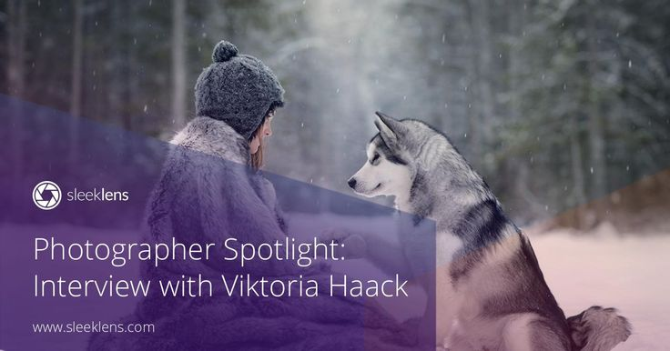 Time to get inspired with our photographer spotlight interview! Viktoria Haack is a gifted photographer from Canada. Get to know all her tips and tricks.