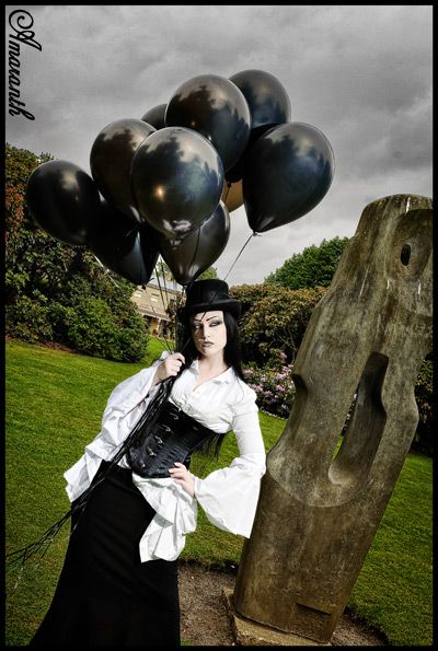 Black Balloons - The ephemeral likeness of being