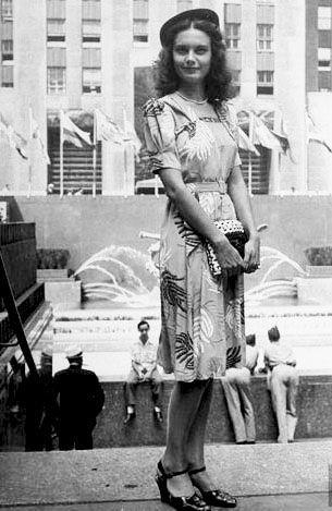 Уличная мода Нью-Йорка 1940-х гг.