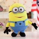 Minions Stuart Dave Toys Plush Dolls 3pcs Set 20CM, 3pcs Set