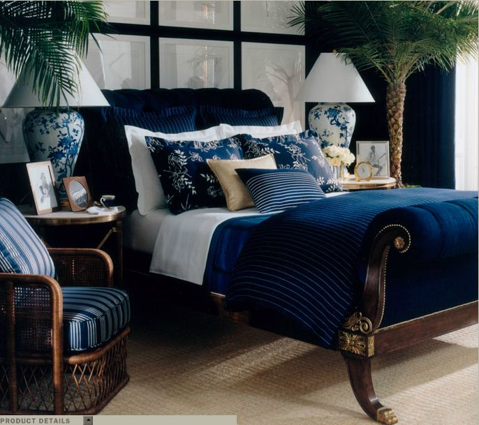 170 best images about ralph lauren home nautical ocean for Blue beach bedroom ideas