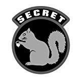 Secret Squirrel Vinyl Decal