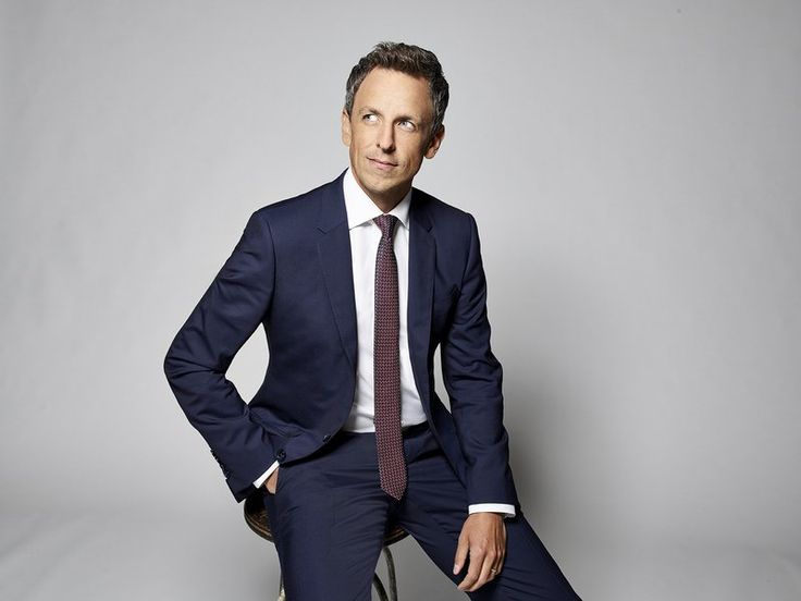 This Sunday, all eyes will be onSeth Meyersas he hosts the 75th annual Golden Globe Awardsfollowing the sexual harassment scandals…