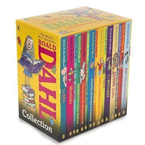Roald Dahl Collection - 15 Paperback Book Boxed Set by Ro... https://www.amazon.com/dp/0141349980/ref=cm_sw_r_pi_dp_x_qLNzyb6VYQ6AC