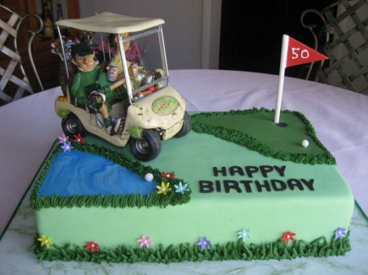 8 best Golf Birthday Cakes images on Pinterest Golf cakes Theme