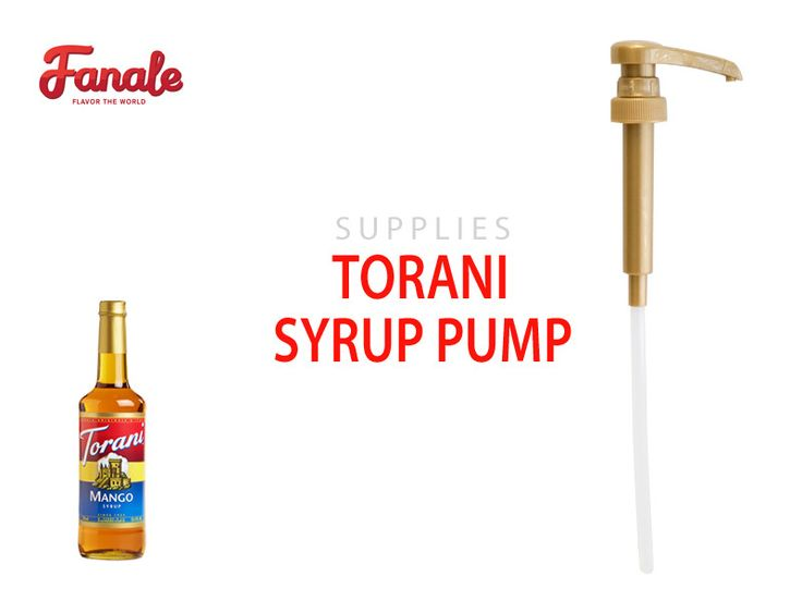 Torani Syrup Pump (0.25oz/8ml)