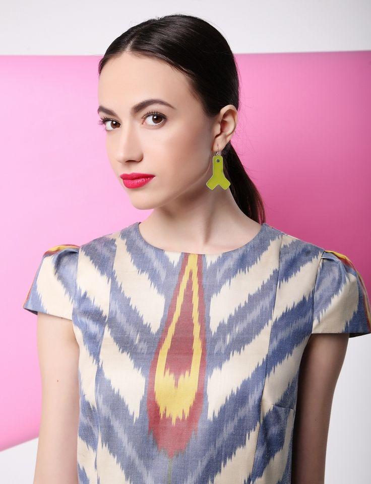 Designer Moel Bosh. Model Christina Smolova. Jewelry Holmuradov Design.
