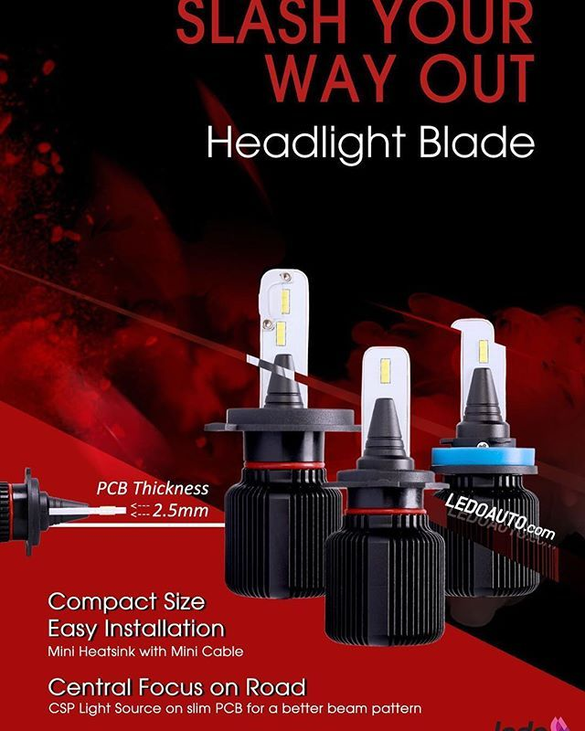 The most cheap led headlight but with high quality :Ledo