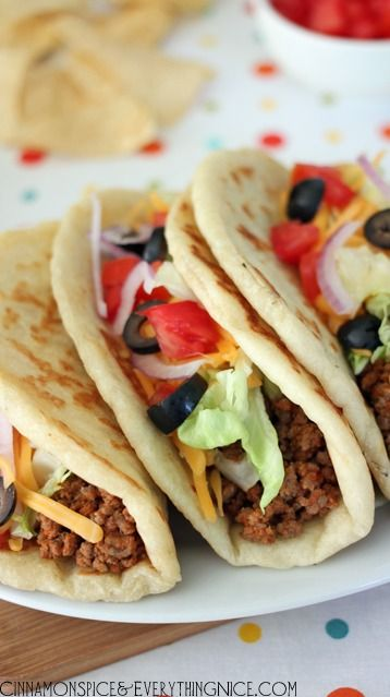 Homemade Gorditas (Taco Bell Copycat)