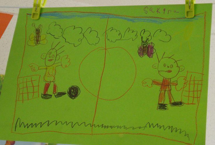 Tekenen: voetbal