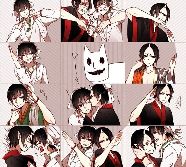 Hoozuki no Reitetsu ~~ Love / Hate relationship :: Hakutaku and Hoozuki