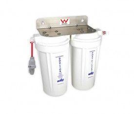 "Doulton 10"" Superblock Twin Under Sink Water Filter"