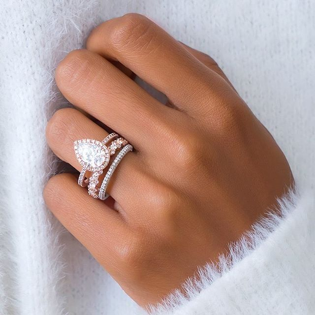 All The Way Home I Ll Be Warm Mixed Metal Waverly Diamond Ring Viola Diamond Ring And V Pretty Rings Pear Diamond Engagement Ring Stunning Engagement Ring