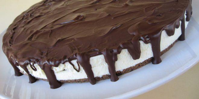 Mennyei túró rudi torta – sütés nélkül