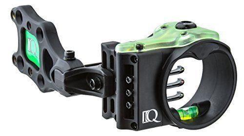 Field Logic IQ Ultralite 3 Pin Bow Sight, Left Hand by Field Logic. Field Logic IQ Ultralite 3 Pin Bow Sight, Left Hand.