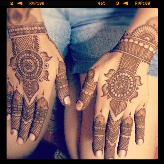 Henna Tattoo Hands Indian : Mehandi indian henna tattoo tattoos pinterest