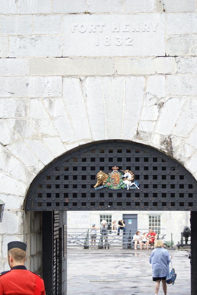 old fort henry ontario | Old Fort Henry, Kingston, Ontario | Fort Henry Dr ...