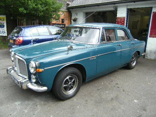 Rover P5B Saloon 1972. Maintenance/restoration of old/vintage vehicles: the material for new cogs/casters/gears/pads could be cast polyamide which I (Cast polyamide) can produce. My contact: tatjana.alic@windowslive.com