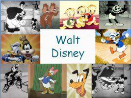 Leuke en informatieve powerpoint over Walt Disney voor 5, deze en nog vele andere kun je downloaden op de website van Juf Milou.