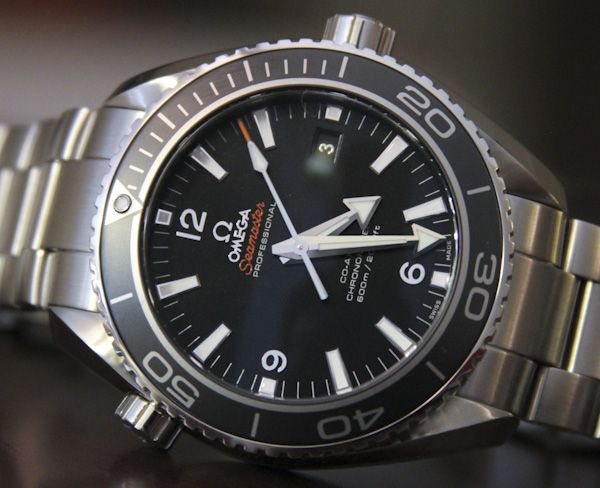 Omega Seamaster Planet Ocean Co-Axial Chronometer Watch Review. For f... da, det er nice!
