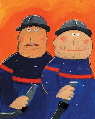 Au feu les pompiers { French Songs For Kids }