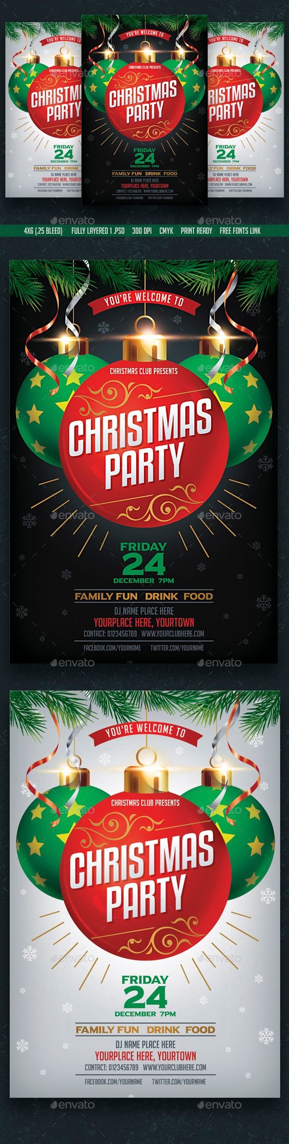 best images about merry christmas flyer template christmas party flyer