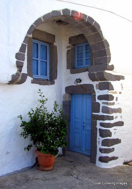 Hora, Island of Patmos, Greece