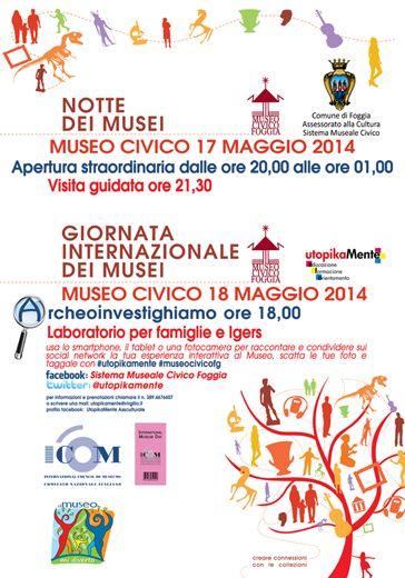 Apertura straordinaria del Museo Civico di Foggia Notti Medievali  #ndm14 #ndm14italia #foggia