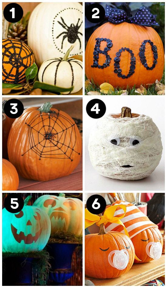 150 pumpkin decorating ideas fun pumpkin designs for halloween no carve - Halloween Pumpkin Designs Without Carving