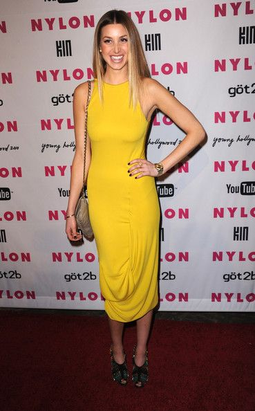 Whitney Port, lover her and her style and obsessed with this dress!