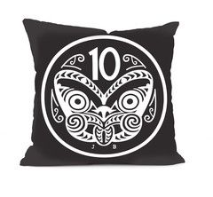 10 Cent Coin - Cushion Cover