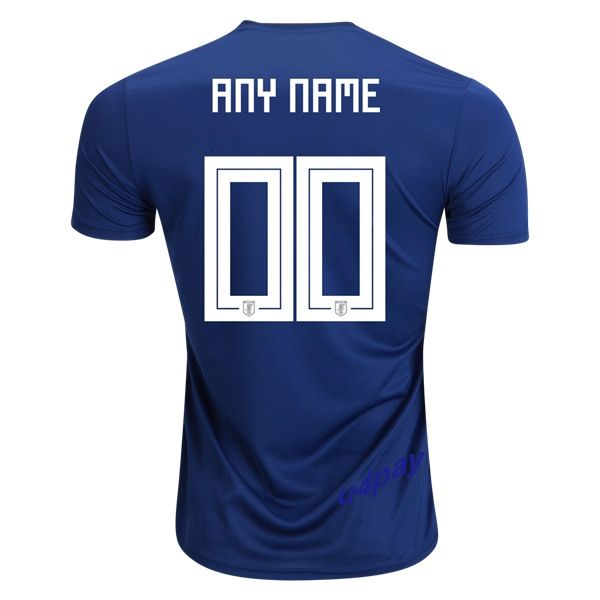 03ca5ac5f 2018 FIFA World Cup Japan Any Name Number Home Soccer Jersey