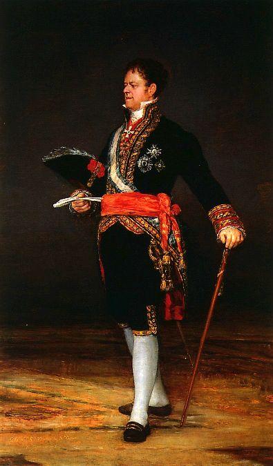"""Unforgettable Goya never made a monarch look good, never could close his eyes to horror."" KB Duque de San Carlos - Francisco de Goya- Museo de Zaragoza"