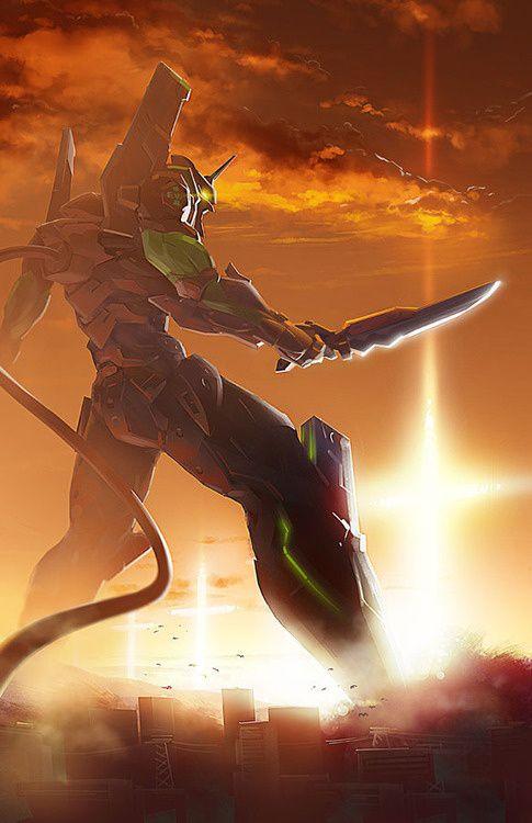 cuando el final llega lo único que nos queda es pelear!! EVANGELION 1.0
