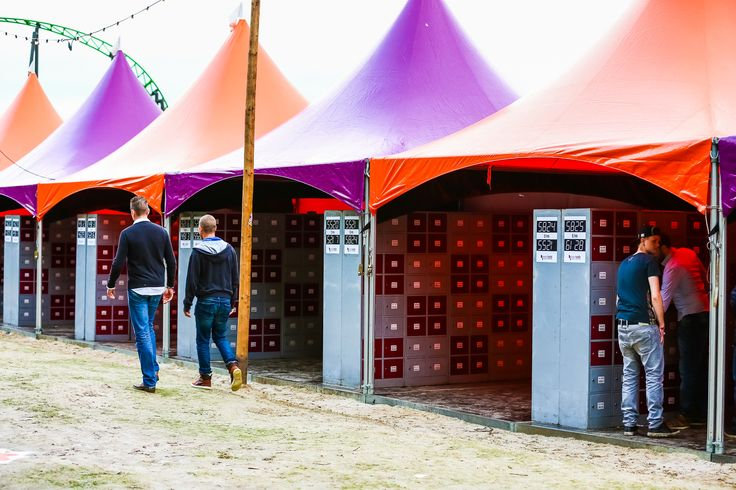 Festyland 2014 - Eventsafe lockers