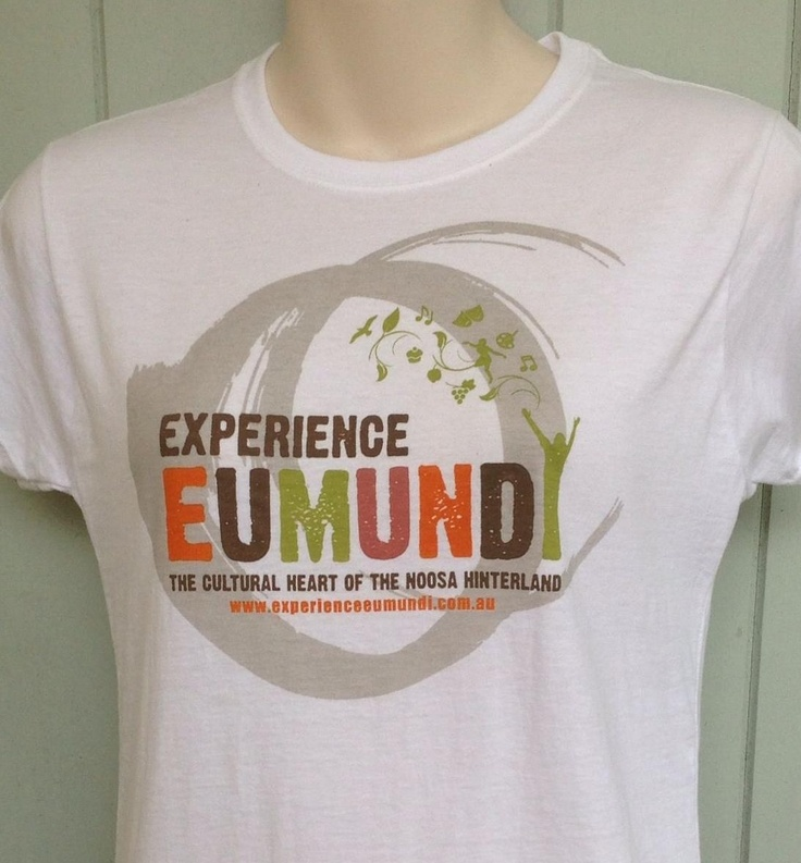 Experience Eumundi tshirt at Discover Eumundi Heritage and Visitor Centre