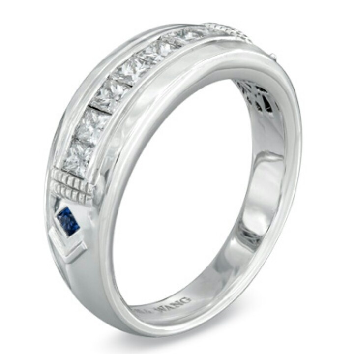 Vera wang male wedding rings