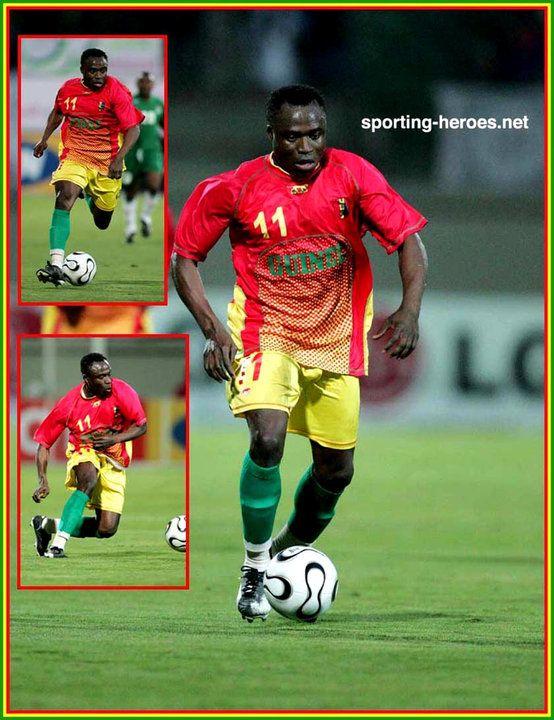 Ibrahima Bangoura - Guinee - Coupe d'Afrique des Nations 2006