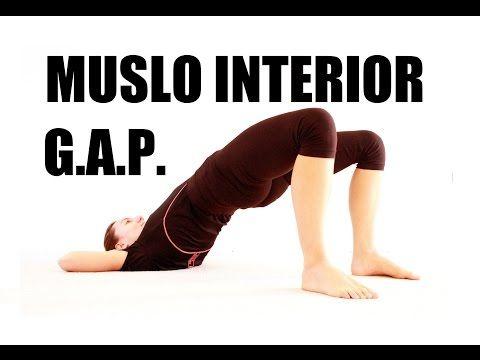 G.A.P. - Aductores muslo interior - Glúteos Abdomen Piernas Dia 7 - YouTube