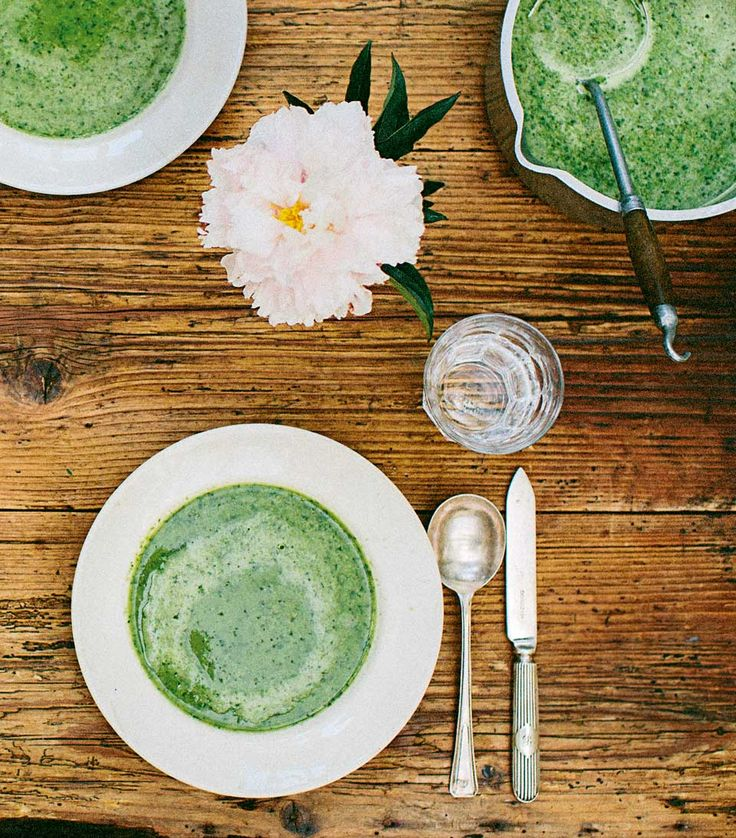 Georgina Fuggle's lettuce soup recipe is simple, fresh and great for a summer lunch. Make it more glamorous with a swirl of cream and a side dish of bruschetta.