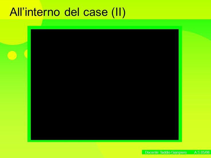 Docente: Taddio Gianpiero A.S.05/06 La struttura fisica del computer. -  ppt scaricare