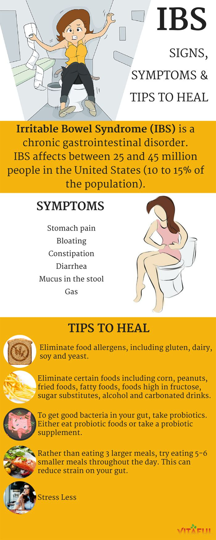 If you experience unpleasant bowels regularly, you may have irritable bowel syndrome (IBS).