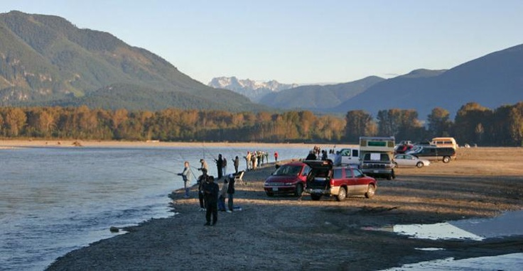 Fishing on the Fraser River