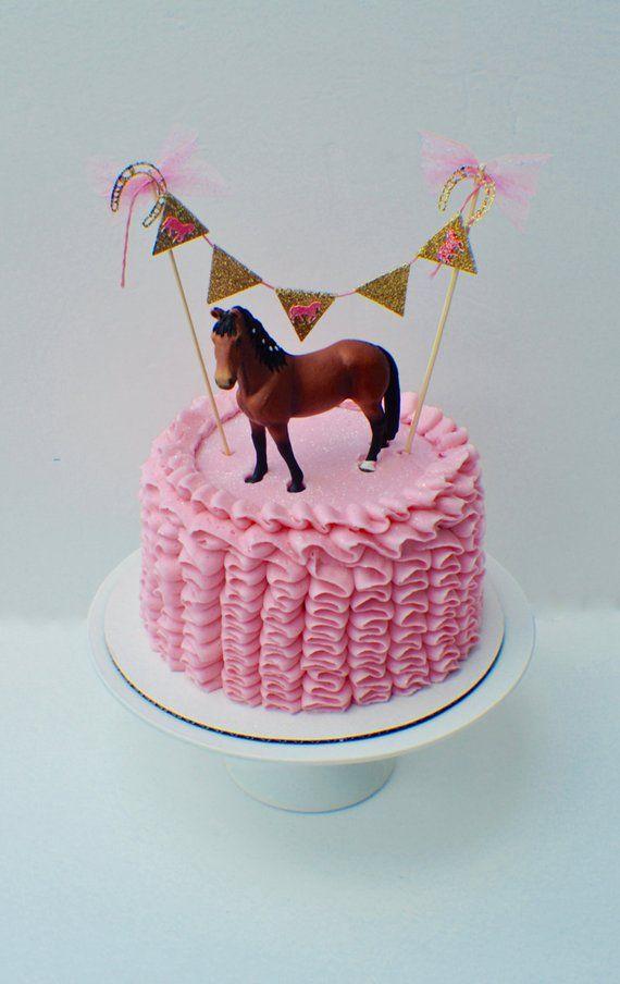 Superb Horse Cake Cake Topper Horse Party Cake Topper Smashcake Topper Personalised Birthday Cards Xaembasilily Jamesorg