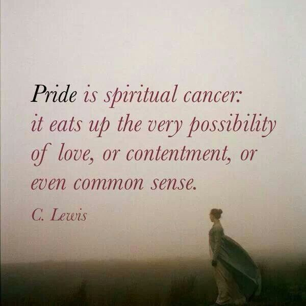 Swallow your pride.