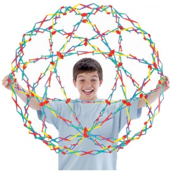 Hoberman - Original Sphere Would love to build this with Mr 6 #Entropywishlist #pintowin