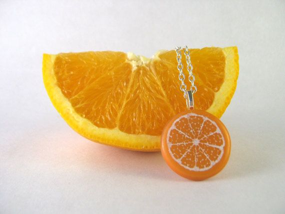Glass Citrus Pendant // By Nicole Nasvytis   Available at ArtistsWalk in Village Square in Burlington ON