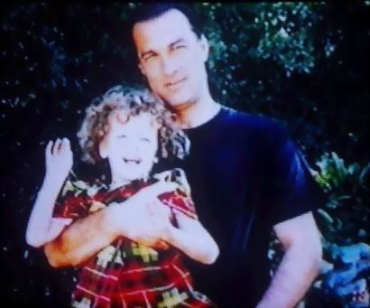 Steven Seagal and daughter, Annaliza