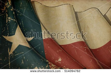 Illustration of a rusty US Ensign printed on old paper