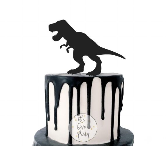 Dinosaur cupcake toppers, monochrome party, black and white decorations, dinosaur cake topper, modern kids party, dinosaur party, trex party, trex decorations, dinosaur decorations, dinosaur cake, land before time party, ice age party, jurassic park party, boys party ideas
